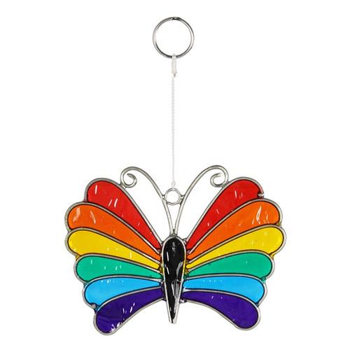 Small Rainbow Butterfly Suncatcher