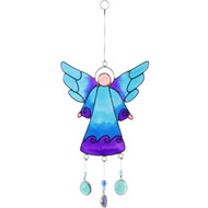 Blue Angel Suncatcher