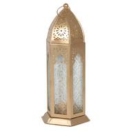 Gold Kasbah Lantern
