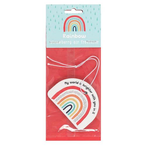 Rainbow Strawberry Air Freshener