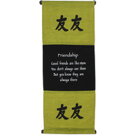 Green Friendship Affirmation Hanging