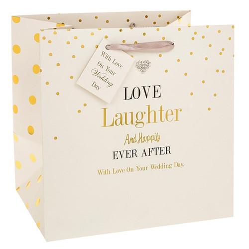 Mad Dots Wedding Gift Bag - Medium