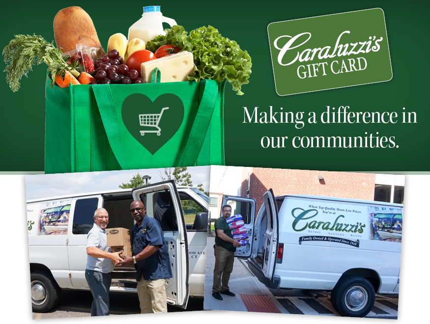 Caraluzzi's Food Bank Donations