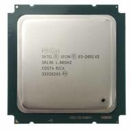 Dual Intel Xeon E5-2651 V2 1.80GHz. 12-Core SR19K Server Processor