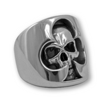Skull of Clubs Ring