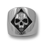 Skull of Diamonds Ring