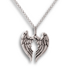 Angel Wings Pendant - Sterling Silver