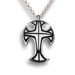 Alisee Cross Pendant - Sterling Silver