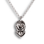 Insane Clown Pendant - Sterling Silver