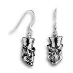 Demon Deacon Earrings - Sterling Silver