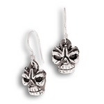 Headhunter Earrings - Sterling Silver