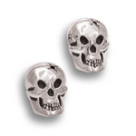 Skull Earrings - Sterling Silver