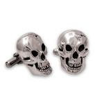 Skull Cufflinks - Sterling Silver