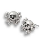 Little Jolly Earrings Silver