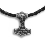 Thor's Hammer Pendant Silver