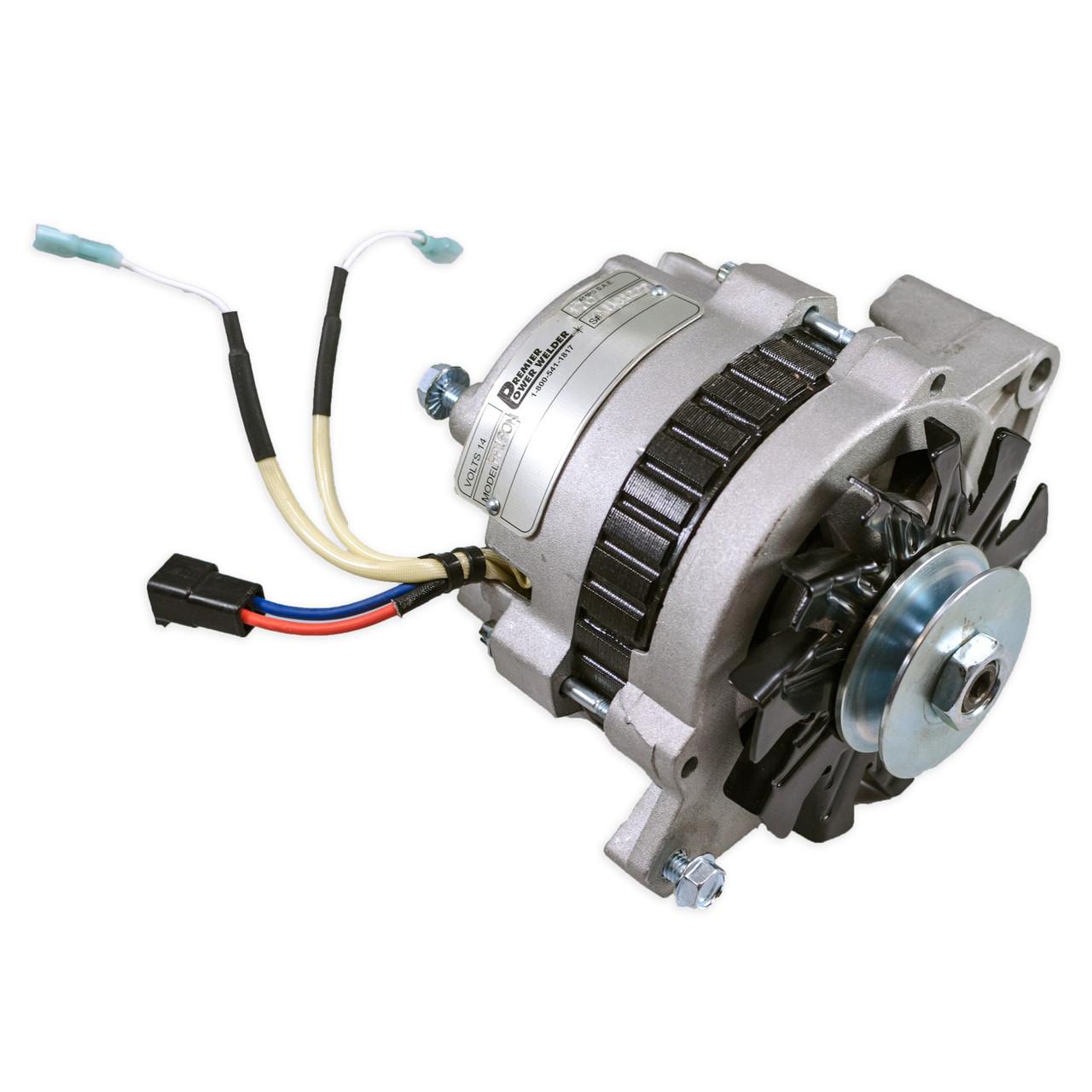 [SCHEMATICS_4ER]  Jeep Wagoneer 1978-1987, 170 amps, Single V Pulley - High Output & Welding  Alternator - Premier Power Welder, LLC | 1983 Jeep Alternator Wiring |  | Premier Power Welder