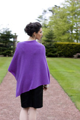 CASHMERE WRAP PURPLE REGALIA