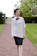 CASHMERE WRAP OYSTER