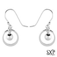 Small Saturn Earrings