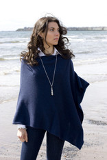 CASHMERE WRAP CONSTELLATION NAVY