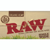 RAW Organic Papers Single Wide Double Window