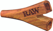 RAW Double Barrel Wooden Cigarette Holder Supernatural