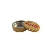 RAW Metal Pop Top Round Tin
