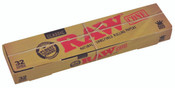 RAW Classic Pre-Rolled Cone King Size 109mm 32 per pack