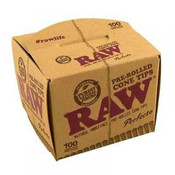 RAW Classic Pre-Rolled Cone Tips Perfecto 100 per pack
