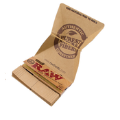 RAW Classic Artesano 1-1/4 With Tray + Papers + Tips