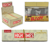 RAW High Times Connoisseur King Size Slim w/ Tips