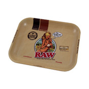 RAW Metal Girl Rolling Tray Large