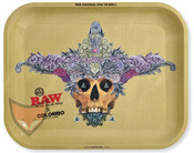 RAW Rolling Tray X Colombo Artist Design Metal Large