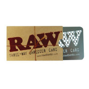RAW Three-Way Shredder Card 8.5 X 5cm