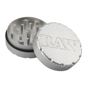 "RAW 2 Piece Shredder Grinder Large 2.5"" Diameter"