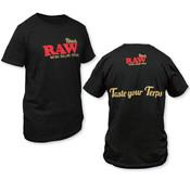 RAW Black Taste The Terps T-Shirt