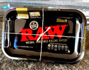RAW Black Small Rolling Tray