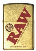 RAW Zippo Gold Dust