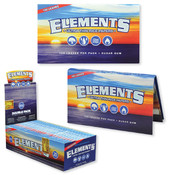 ELEMENTS Single Wide Double Window Rolling Papers