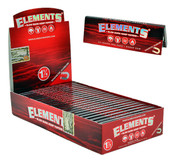 ELEMENTS 1-1/4 Slow Burn Hemp Rolling Papers