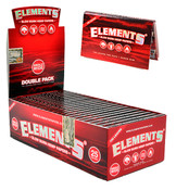 ELEMENTS Single Wide Double Window Slow Burn Hemp Rolling Papers