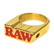 RAW Gold Smoking Ring