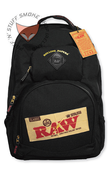 RAW Rolling Papers X Smell Proof BAKEPACK