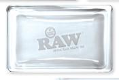 RAW Crystal Glass Rolling Tray