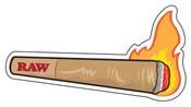 RAW Burning Cone Sticker
