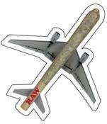 RAW Cone Plane Sticker