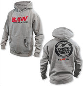 RAW Mens OG Hoodie Heather Gray