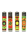 Clipper Jamaica Mandala 4 Lighter Set