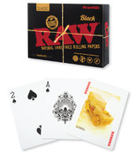 RAW Black Playing Cards