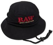 RAW Smokers Bucket Hat Black 1-1/4